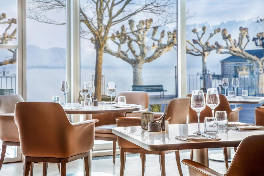 Château d'Ouchy - The restaurant of Château d'Ouchy - Lausanne, Suisse